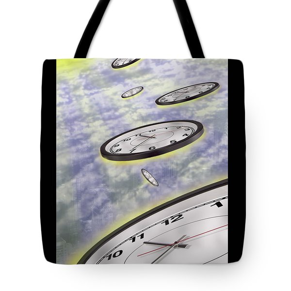 As Time Goes By Tote Bag by Mike McGlothlen