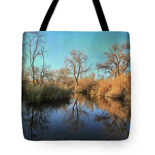 Tote Bag featuring the photograph As We Taked About The Year by Laurie Search