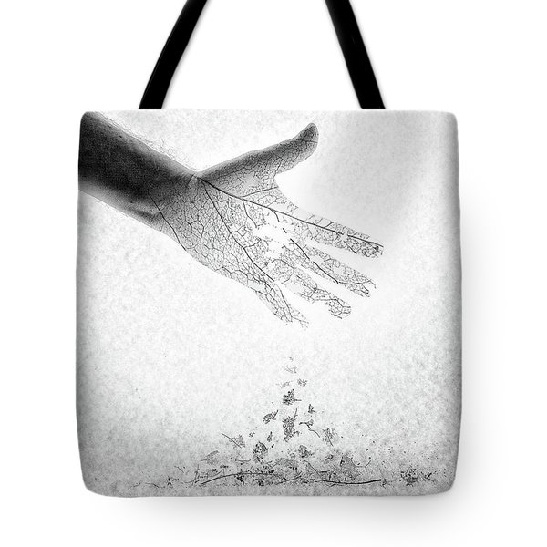 Tote Bag featuring the photograph As You Once Were, So You Will Soon Be by Mark Fuller