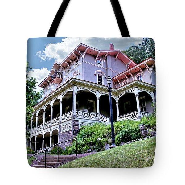 Asa Packer Mansion Tote Bag