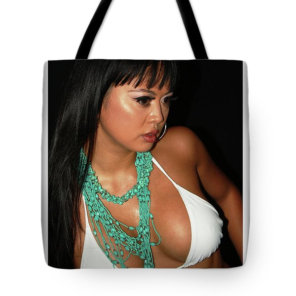 Tote Bag featuring the painting Asain Implants by Tbone Oliver