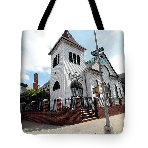 Asamblea Evangelica Evergreen Church Tote Bag