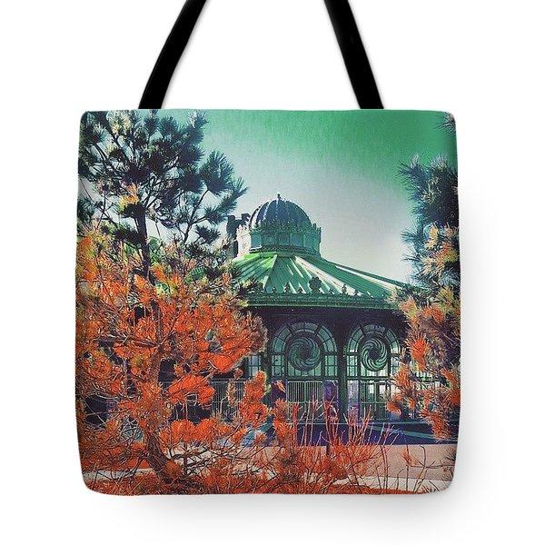 Asbury Park Carousel Tote Bag