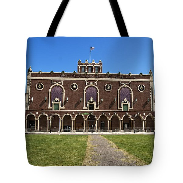 Tote Bag featuring the photograph Asbury Park Convention Hall by Elsa Marie Santoro