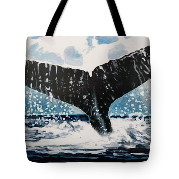 Ascend Tote Bag by Elizabeth Robinette Tyndall