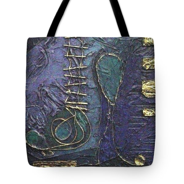 Ascending Blue Tote Bag by Bernard Goodman
