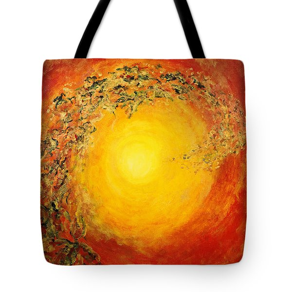 Ascending Light Tote Bag by Tara Thelen - Printscapes
