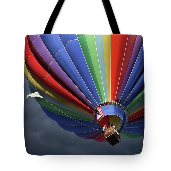 Ascending To The Storm Tote Bag