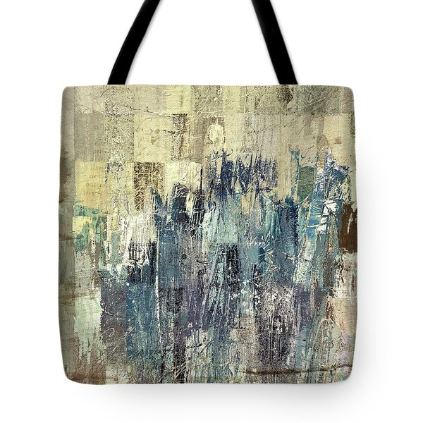 Tote Bag featuring the painting Ascension - C03xt-159at2b by Variance Collections