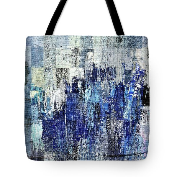 Tote Bag featuring the digital art Ascension - C03xt-160at2c by Variance Collections