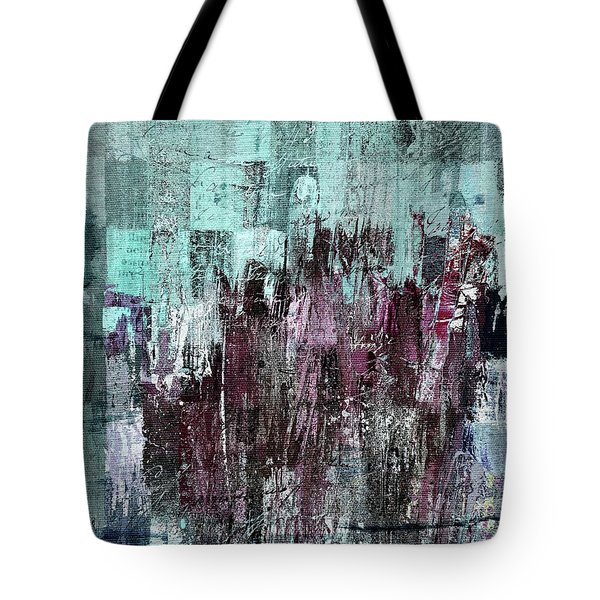 Tote Bag featuring the digital art Ascension - C03xt-161at2c by Variance Collections