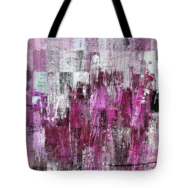 Tote Bag featuring the digital art Ascension - C03xt-165at2c by Variance Collections