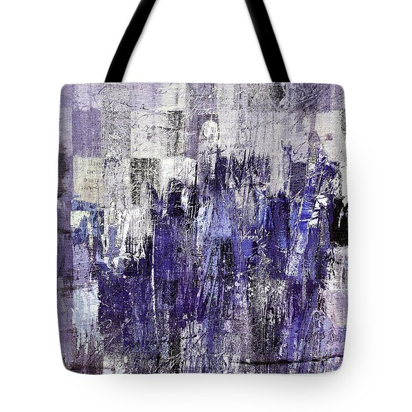 Tote Bag featuring the painting Ascension - C03xt-166at2c by Variance Collections