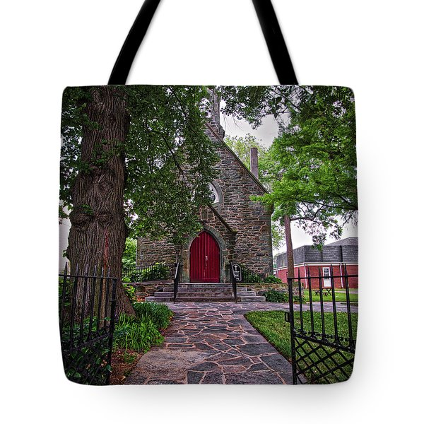 Tote Bag featuring the photograph Ascension Episcopal Church by Mark Dodd
