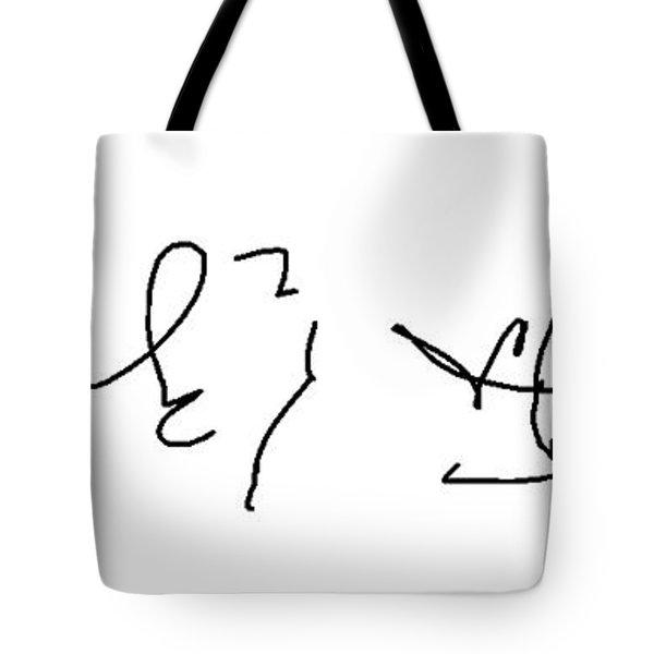 Asemic Writing 02 Tote Bag