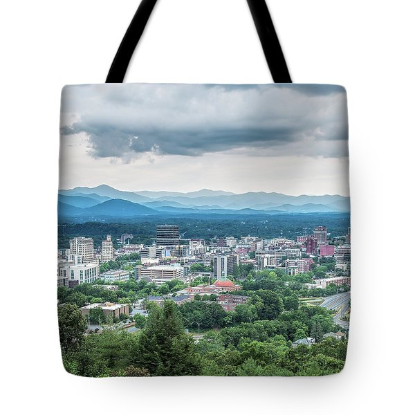 Asheville Afternoon Cropped Tote Bag