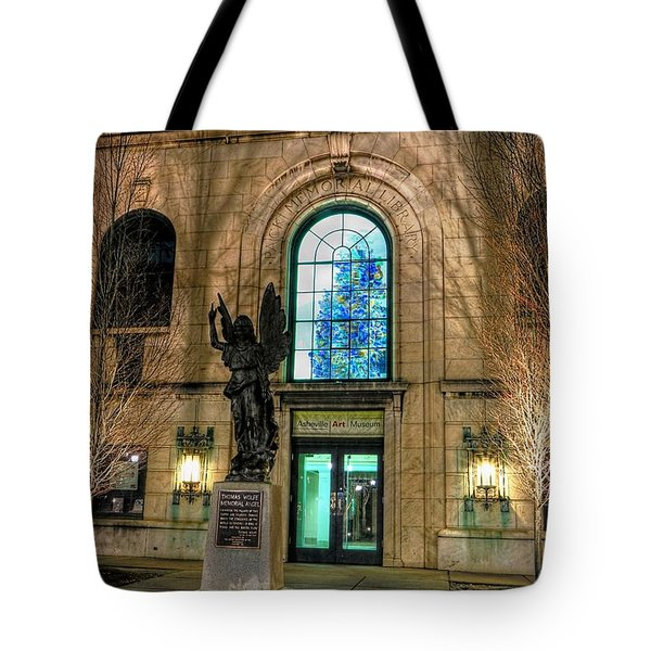 Asheville Art Museum Tote Bag