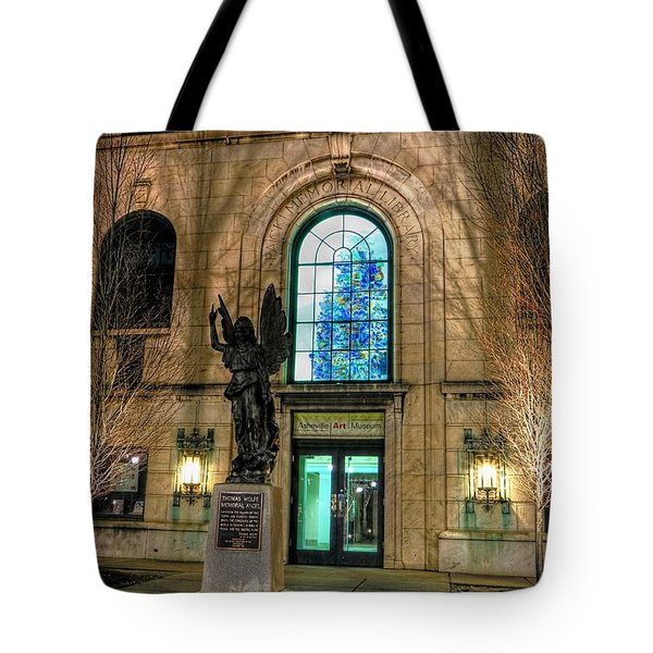 Asheville Art Museum Tote Bag