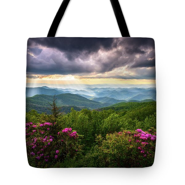 Asheville Nc Blue Ridge Parkway Scenic Landscape Photography Tote Bag