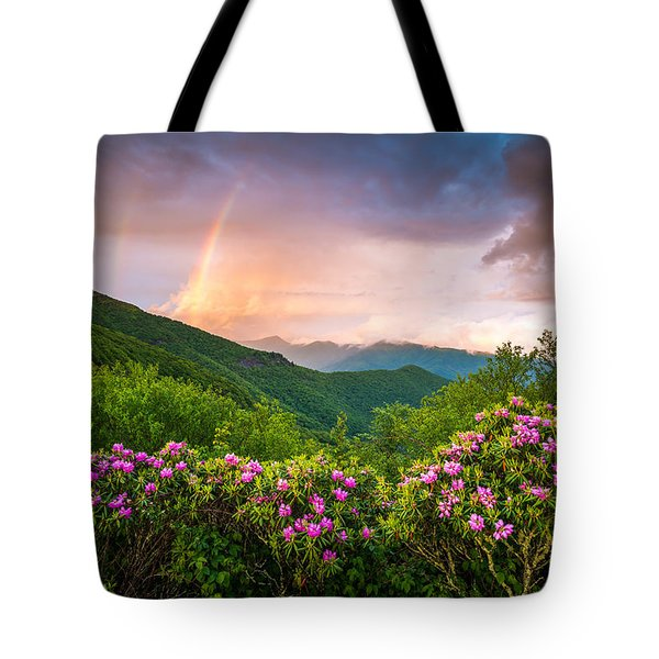 Asheville North Carolina Blue Ridge Parkway Scenic Landscape Tote Bag
