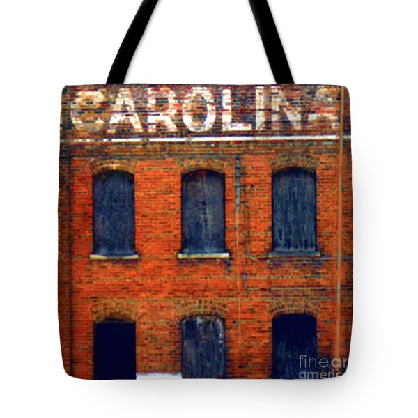 Asheville River District Tote Bag