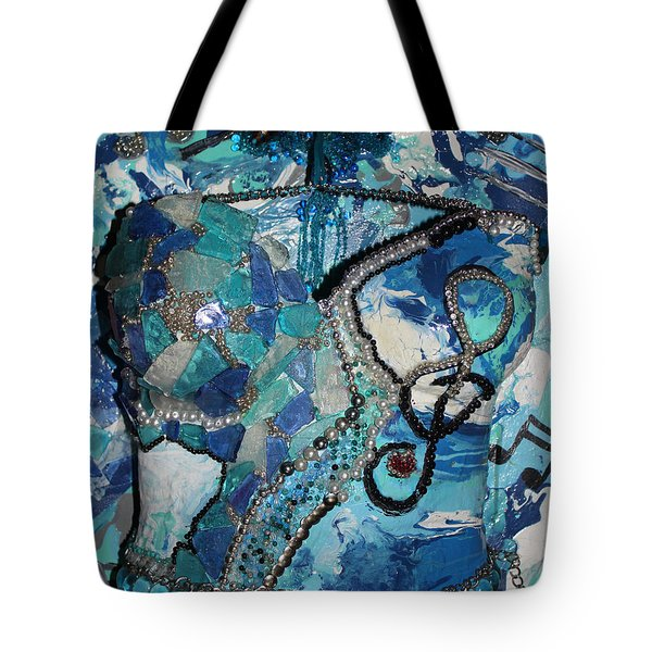 Ashley - Let The Music Play Supporter Tote Bag