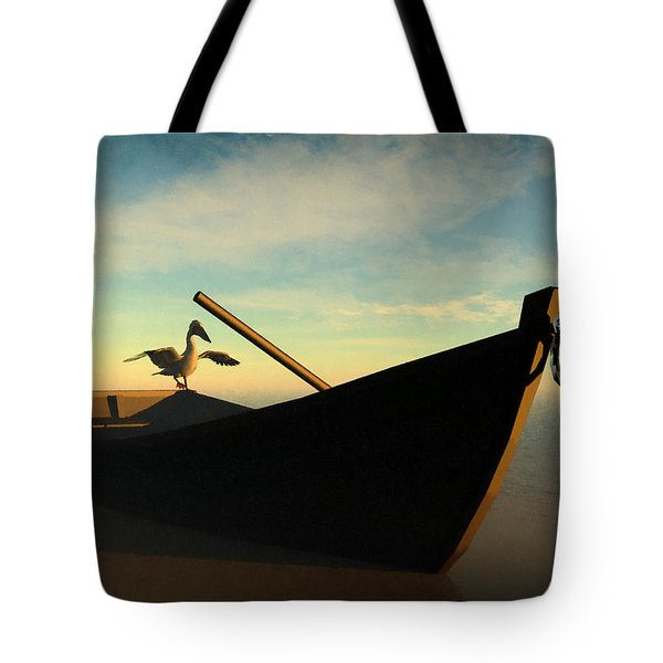 Ashore... Tote Bag by Tim Fillingim