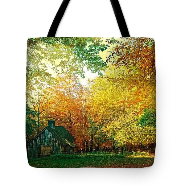 Ashridge Autumn Tote Bag by Anne Kotan