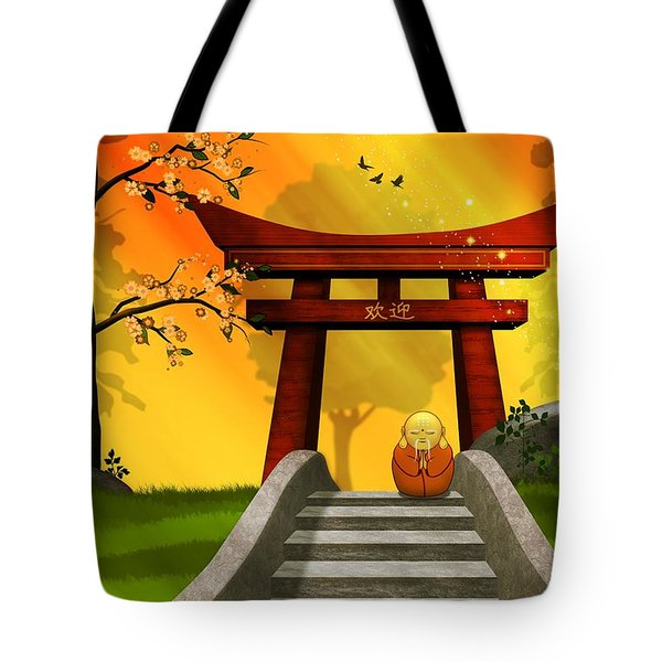 Asian Art Chinese Spring Tote Bag