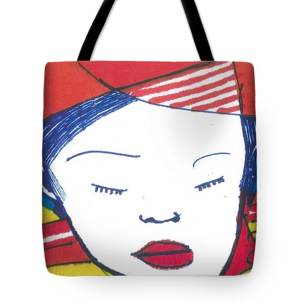 Asian Child Tote Bag
