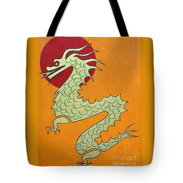 Asian Dragon Icon No. 1 Tote Bag