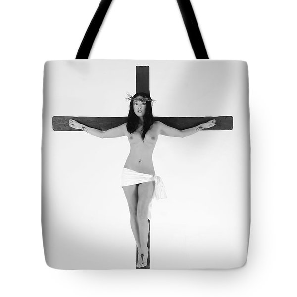 Asian Female Jesus Tote Bag