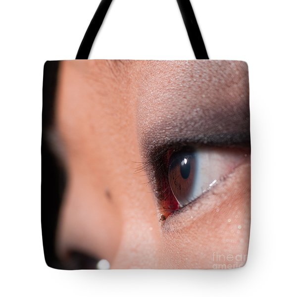 Asian Girl Eyes 1283053 Tote Bag