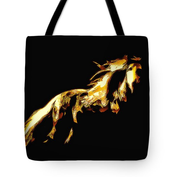 Asian Stallion Tote Bag