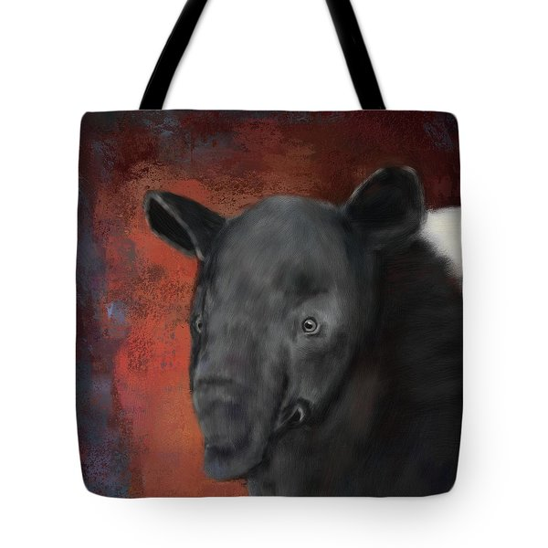 Asian Tapir Tote Bag