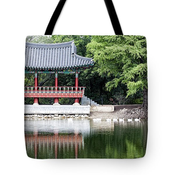 Asian Theater Tote Bag