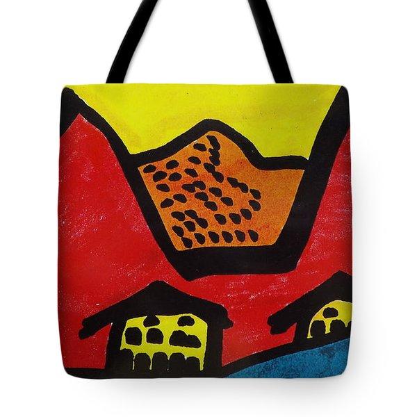 Asian Village  Tote Bag