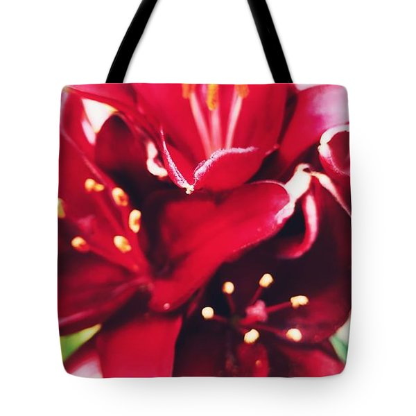 Asiatic Lilies Tote Bag