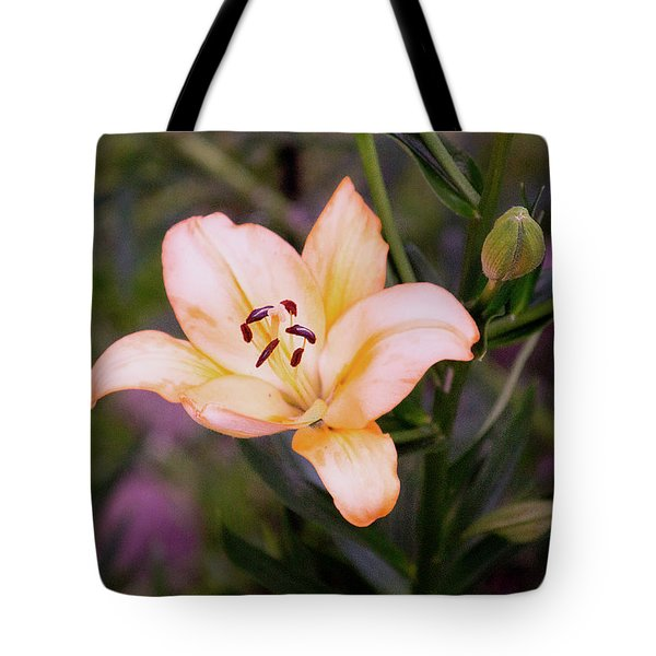 Asiatic Lilly Tote Bag