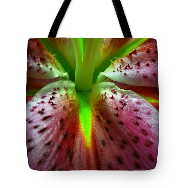 Asiatic Lily Tote Bag by Jeff Breiman