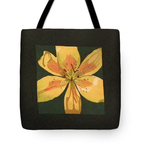 Asiatic Lily Tote Bag by Jenny Williams