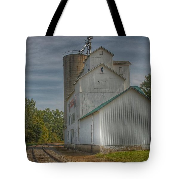 2008 - Aside The Tracks In Mayville Tote Bag