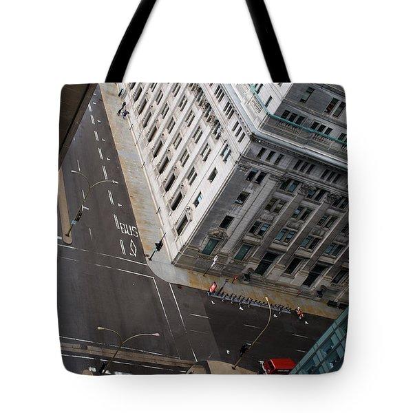 Askew View Tote Bag by Lisa Knechtel