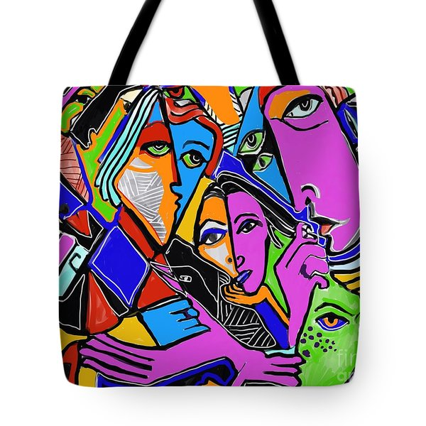 Asking A Fool Tote Bag by Hans Magden