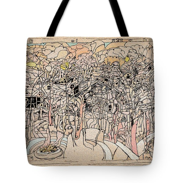 Asking Not To Wit Tote Bag