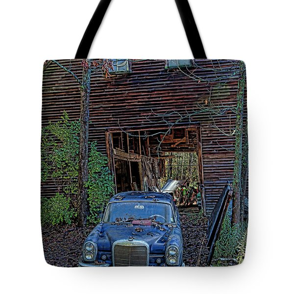 Asleep At The Wheel Tote Bag