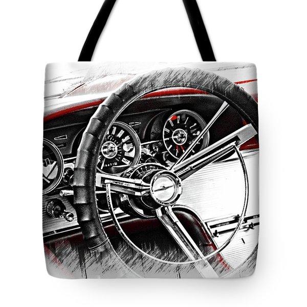 Asleep At The Wheel Tote Bag