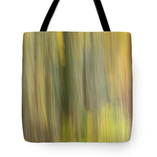 Aspen Blur #2 Tote Bag