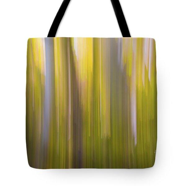 Aspen Blur #6 Tote Bag