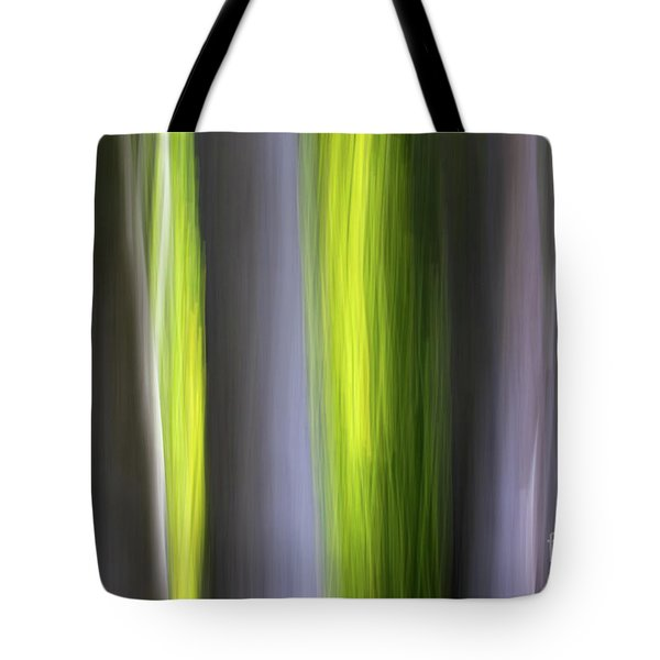 Tote Bag featuring the photograph Aspen Blur #7 by Vincent Bonafede